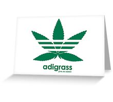 Adigrass Give You Speed Greeting Card