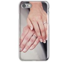 Bride & Groom ... Wedding Rings iPhone Case/Skin
