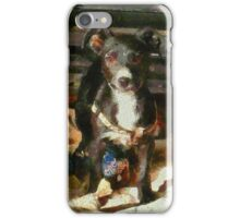 A Puppy Can Never Have Too Many Toys iPhone Case/Skin