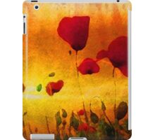 Poppy Sunset iPad Case/Skin
