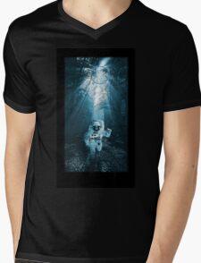 Haunted Mens V-Neck T-Shirt