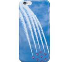 Red Arrows - 50th Display Season iPhone Case/Skin