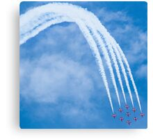Red Arrows - 50th Display Season Canvas Print