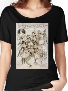 Performing Arts Posters The big extravaganza success Over the fence by Owen Davis 1134 Women's Relaxed Fit T-Shirt