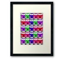 Campervan Multi Abstract No.3 Framed Print