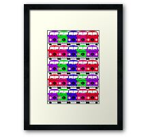 Campervan Multi Abstract No.3 Framed Print