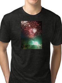 Fireworks Display Tri-blend T-Shirt