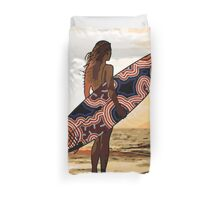 Surfs Up Australia Duvet Cover