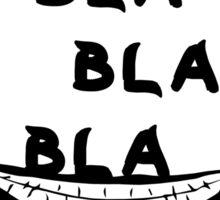 Bla Bla Bla Joker Sticker