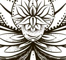 ornamental Lotus Sticker