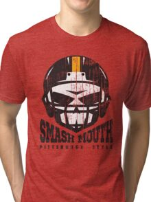 SMASH MOUTH FOOTBALL (vintage) Tri-blend T-Shirt