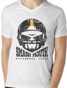 SMASH MOUTH FOOTBALL (vintage) Mens V-Neck T-Shirt