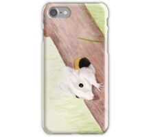 Mouse in a Log iPhone Case/Skin