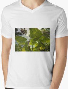 Elephant Ear HDR Mens V-Neck T-Shirt