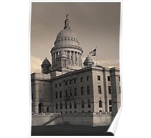 Rhode Island State House I Toned Poster