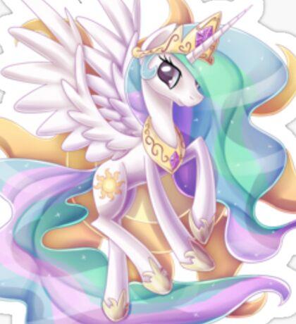 Princess Celestia Sticker Sticker