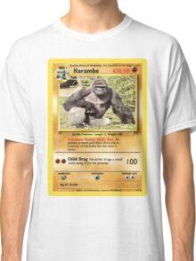 Harambe Pokemon Card Classic T-Shirt