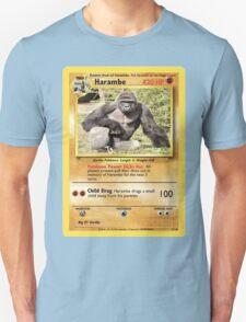 Harambe Pokemon Card Unisex T-Shirt