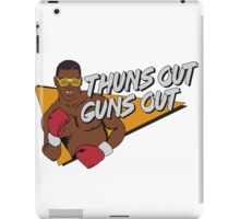Thuns Out Guns Out Tyson Boxing iPad Case/Skin