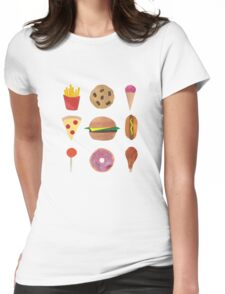 Junk Food! Womens Fitted T-Shirt