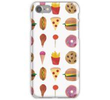 Junk Food! iPhone Case/Skin