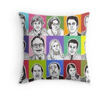 The Office Cast Throw Pillow