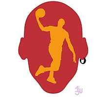 Basketball Icon Dunk MIA Photographic Print