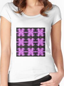 Pink Bell (VNS.3) Women's Fitted Scoop T-Shirt