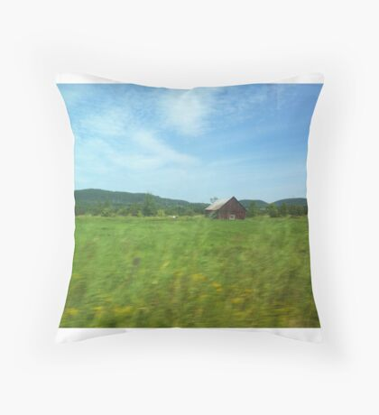 ferme Rural nature Throw Pillow