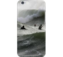 Silver Storm III iPhone Case/Skin