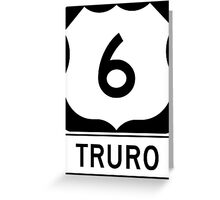 US 6 - Truro Massachusetts Greeting Card