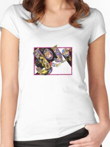 Jojo's bizarre adventure  Women's Fitted Scoop T-Shirt
