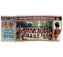 Performing Arts Posters Lieut Dan Godfreys British Guards Band tour of America and Australia under the sole direction of Mr Charles AE Harriss 1843 Poster