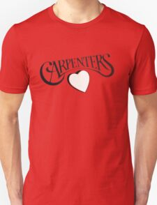 Carpenters 1972 classic album logo design  Unisex T-Shirt