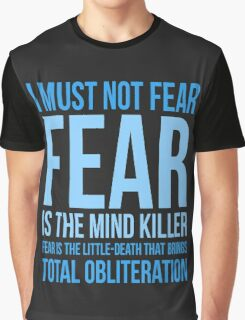 Litany Against Fear (short) Graphic T-Shirt