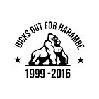 DICKS OUT FOR HARAMBE by memelord1337