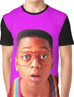 Steve Urkel Graphic T-Shirt