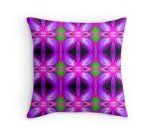 Pink Purple (VNS.6) Throw Pillow