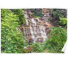 Hector Falls Cascade Poster