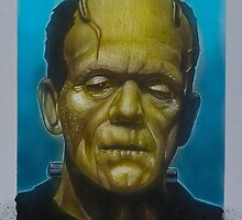 Frankenstein Monster by jasonkincaid