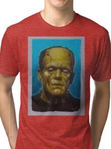 Frankenstein Monster Tri-blend T-Shirt