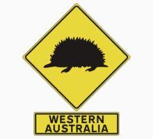 WONDERFUL WESTERN AUSTRALIA - ECHIDNA Kids Tee