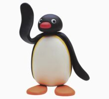 pingu waving One Piece - Short Sleeve