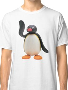 pingu waving Classic T-Shirt