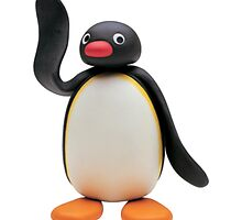 pingu waving by Ethan White