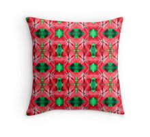 Red Star (VNS.7) Throw Pillow