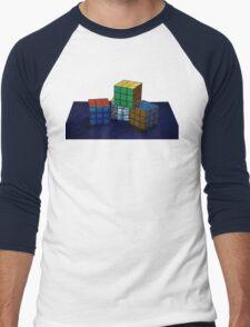 Cubes Men's Baseball ¾ T-Shirt