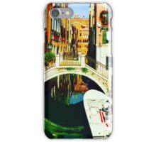 Canal In Venice iPhone Case/Skin