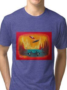 Night Visit Tri-blend T-Shirt