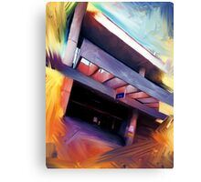 The Art of Parking Canvas Print